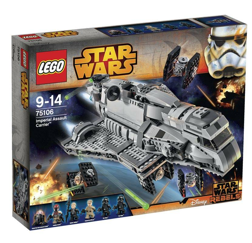 Lego Star Wars (75106). Imperial Assault Carrier: prezzo