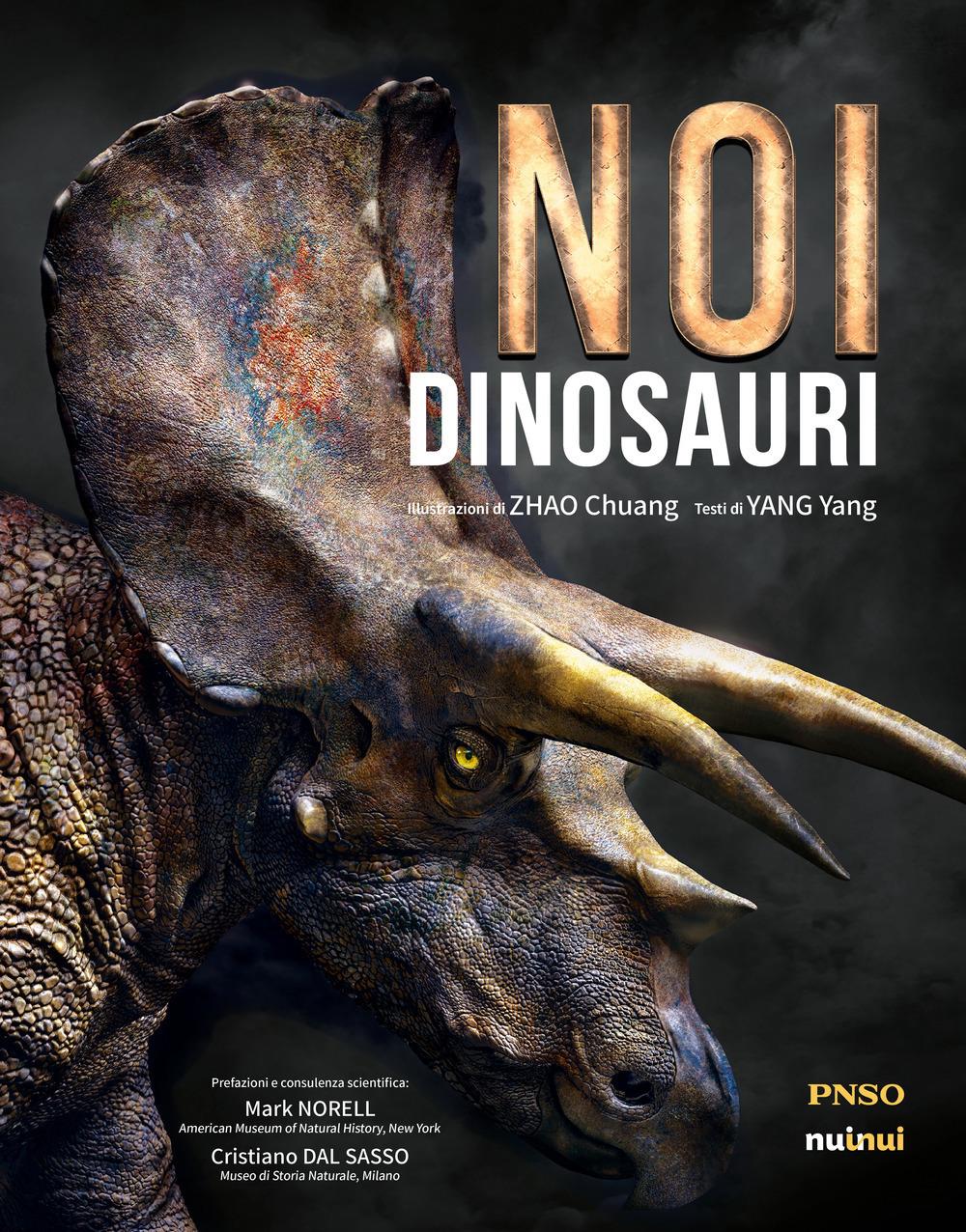 Yang Yang Noi dinosauri Yang Yang ISBN:9782889354504