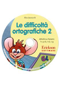 Elisa Quintarelli Le difficoltà ortografiche. CD-ROM. Vol. 2: Attività sui fonemi simili: f-v, p-b, t-d, c-g. ISBN:9788859004950