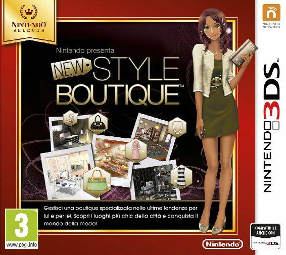Nintendo New Style Boutique - Nintendo Selects - 3DS