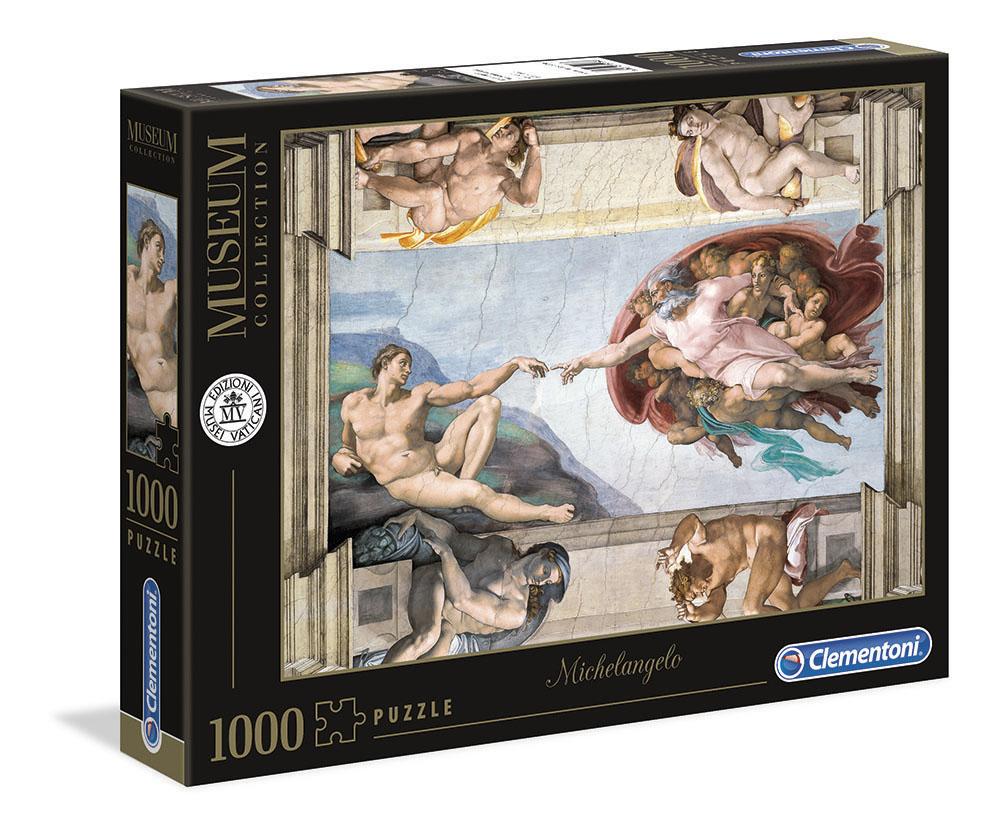 Dell Michelangelo Creazione dell'uomo 1000 pezzi Museum Collection