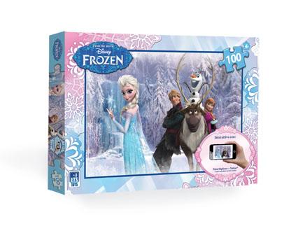 Puzzle interattivo 100 pezzi Frozen