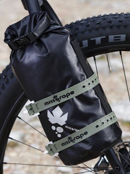 Miss Grape Fix - - accessori borsa bici - Green
