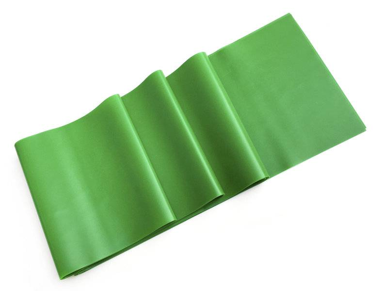 get fit aerobic band - elastico fitness - green