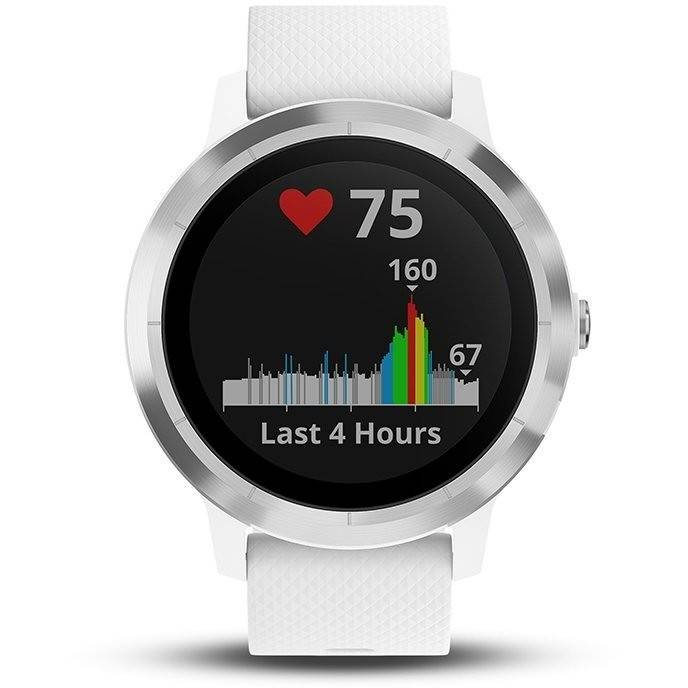 garmin vivoactive 3 (large) smartwatch 1.2 pollici bluetooth bianco