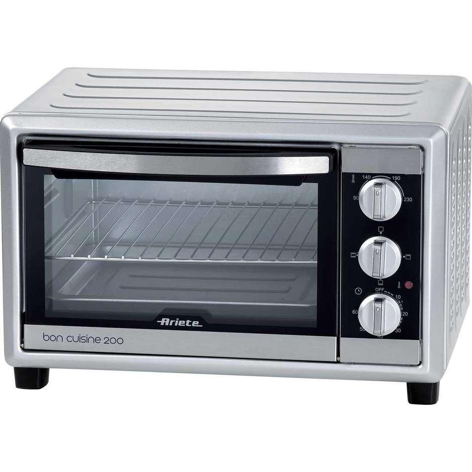 Ariete 981 Bon Cuisine 200 Forno Elettrico 20 Litri Timer Regolabile Colore Arge