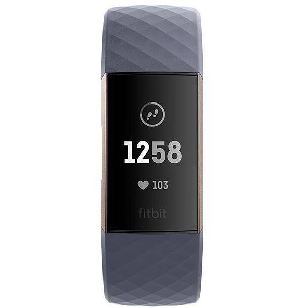fitbit fb409rggy-eu charge 3 smartwatch fitness tracker touchscreen bluetooth co