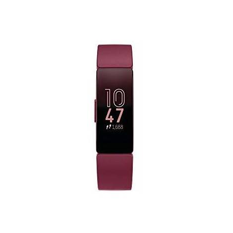 fitbit fb412byby inspire smartwatch fitness tracker bluetooth colore sangria