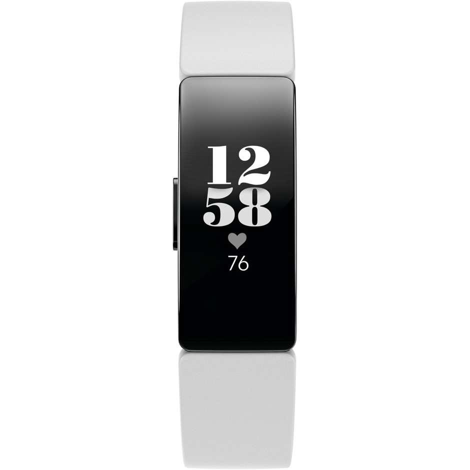 fitbit fb413bkwt inspire hr smartwatch fitness tracker bluetooth cardiofrequenzi