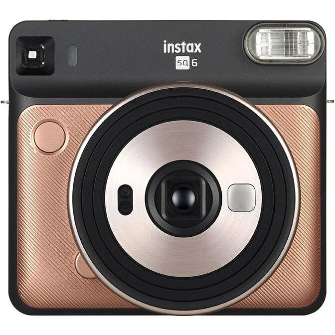 Fujifilm Instax Square Sq6 Fotocamera A Stampa Istantanea Colore Oro