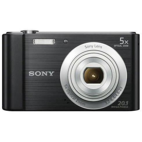 Sony Dsc-W800 Fotocamera Compatta 20,1 Megapixel Zoom Ottico 5x Colore Nero