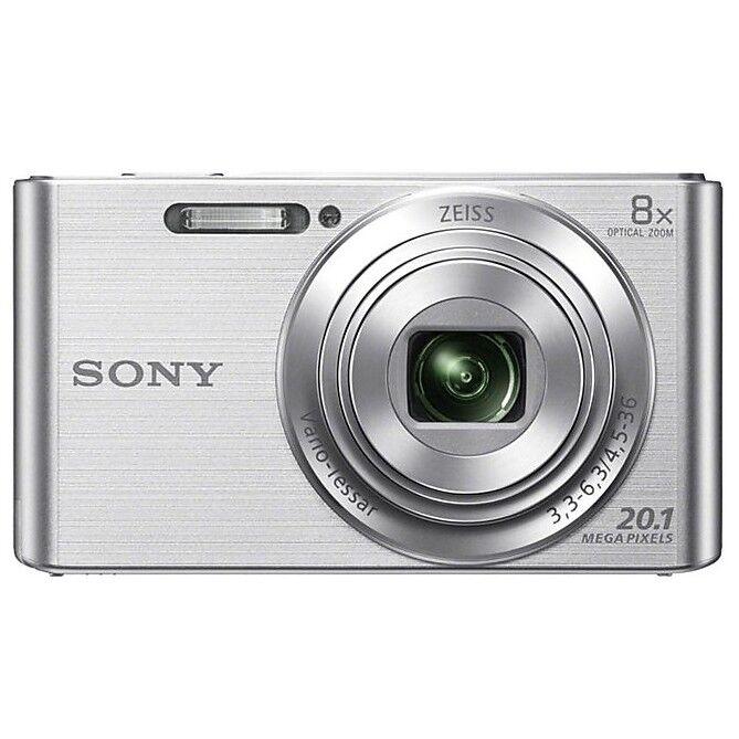 Sony Dsc W830 Fotocamera Digitale Compatta 20,1 Mpx Zoom Ottico 8x Colore Argent