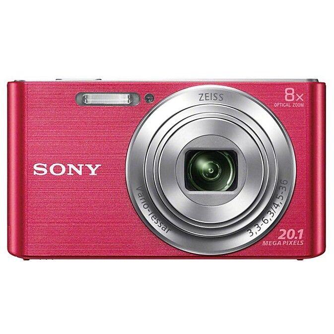 Sony Dsc W830 Fotocamera Digitale Compatta 20,1 Mpx Zoom Ottico 8x Colore Rosa