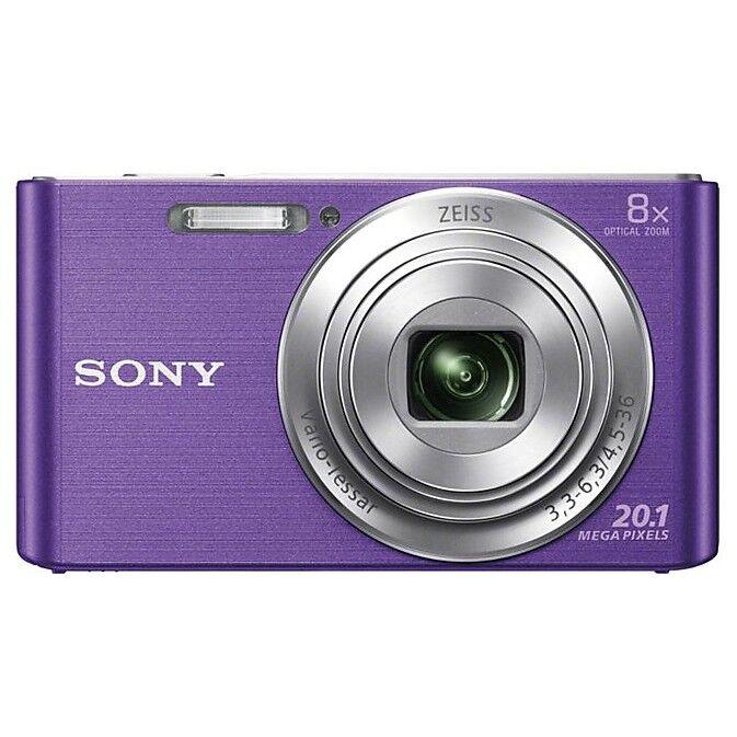 Sony Dsc W830 Fotocamera Digitale Compatta 20,1 Mpx Zoom Ottico 8x Colore Viola