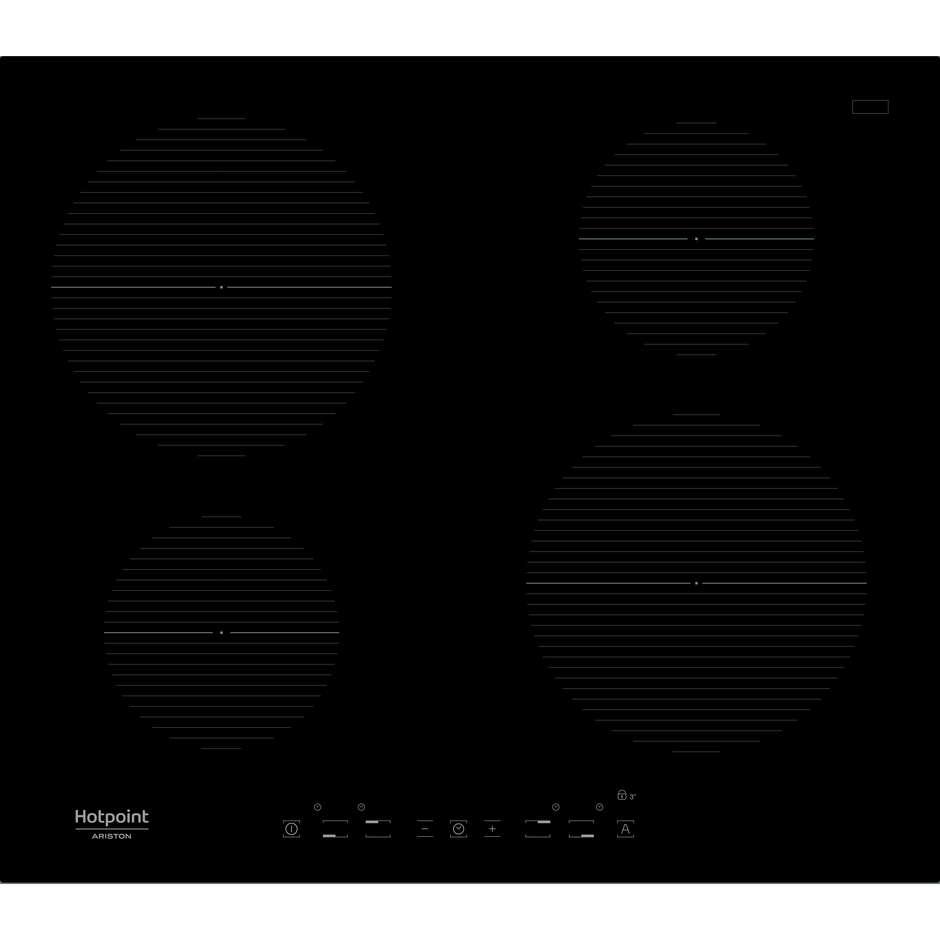 Ariston Hotpoint/ariston Ikia 640 F Piano Cottura A Induzione 60 Cm 4 Zone Cottura Color