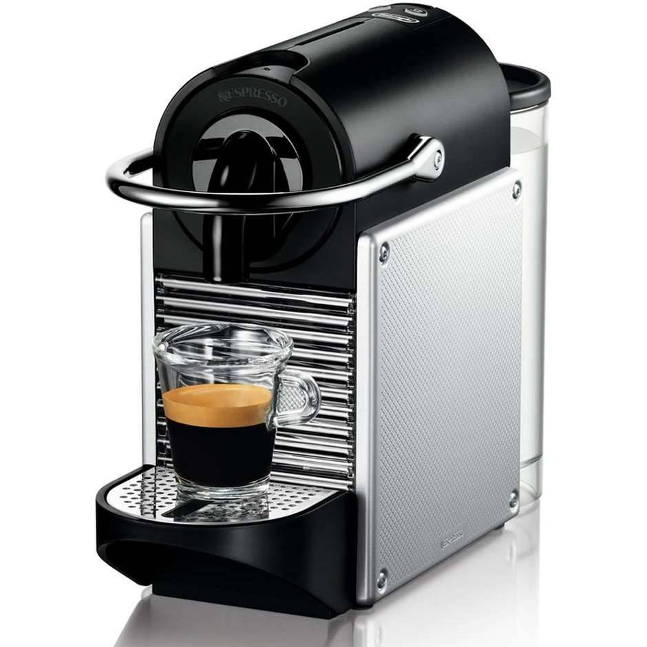 DeLonghi En 125.S Pixie Macchina Del Caffè 0,7 Litri 1260 Watt Colore Argento