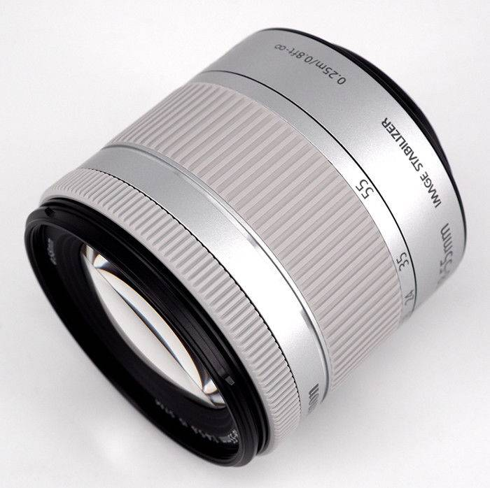 Canon EF-S 18-55mm F/4-5.6 IS STM - SILVER - 4 Anni Di Garanzia In Italia