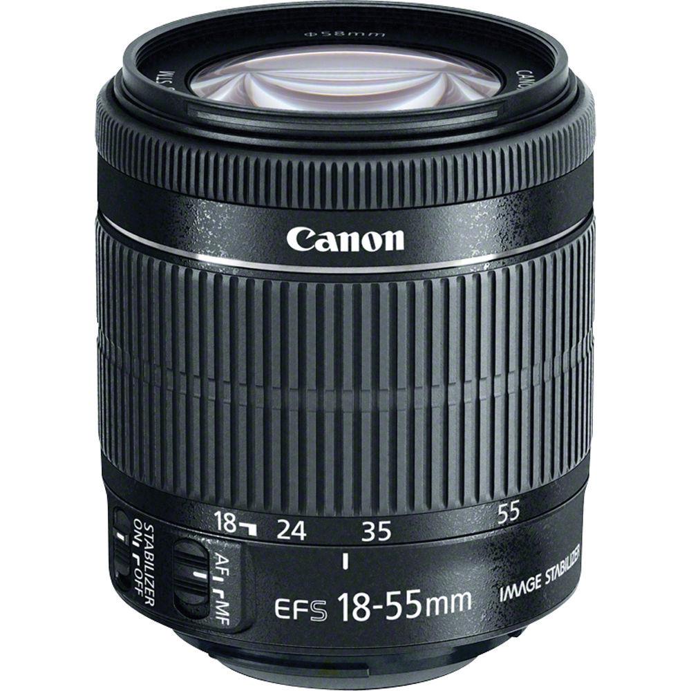 Canon EF-S 18-55mm F/3.5-5.6 IS STM - 4 Anni Di Garanzia in Italia