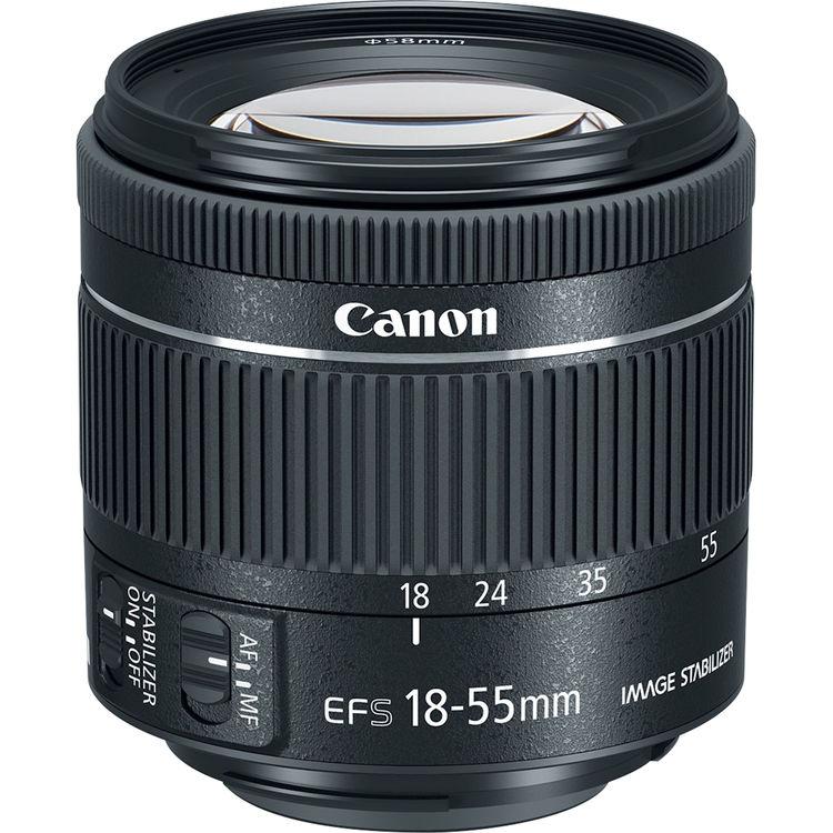 Canon EF-S 18-55mm F/4-5.6 IS STM - 2 Anni Di Garanzia In Italia - Pronta Consegna