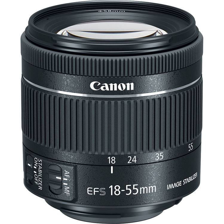 Canon EF-S 18-55mm F/4-5.6 IS STM - 4 Anni Di Garanzia In Italia - Pronta Consegna