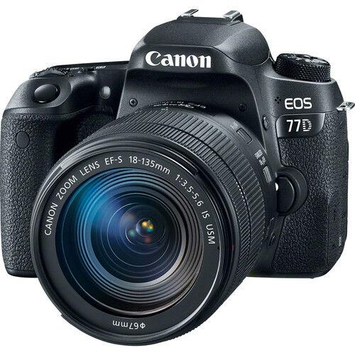 Canon EOS 77D + 18-135mm F/3.5-5.6 IS STM - 2 Anni Di Garanzia