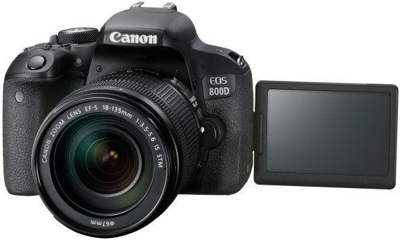 Canon EOS 800D + 18-135mm F/3.5-5.6 IS STM - 4 Anni Di Garanzia In Italia - Pronta Consegna