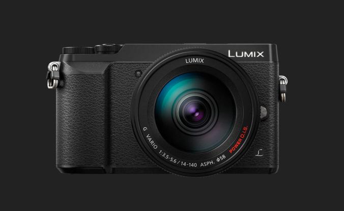 Panasonic Lumix DMC-GX80 + 14-140mm F/3.5-5.6 Asph. O.I.S. - NERO - 4 Anni Di Garanzia in Italia