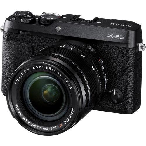Fujifilm X-E3 + 18-55mm F/2.8-4 XF R LM OIS NERA - MANUALE ITA - 4 anni Garanzia in ITA - Pronta Con