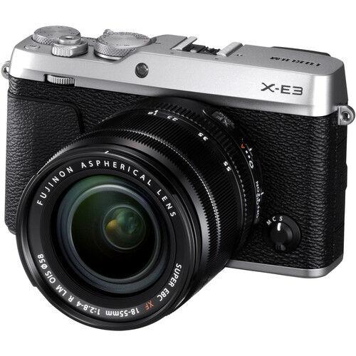Fujifilm X-E3 + 18-55mm F/2.8-4 XF R LM OIS ARGENTO - MANUALE ITA - 4 anni di garanzia