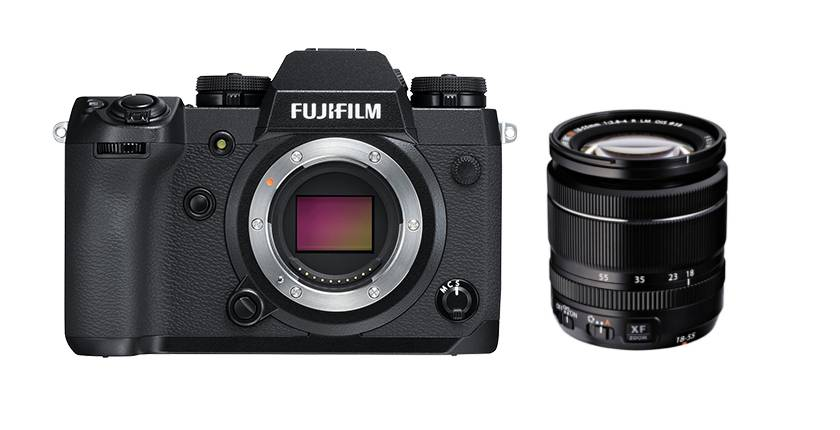 Fujifilm X-H1 + 18-55mm f/2.8-4 R LM OIS - 4 ANNI DI GARANZIA IN ITALIA