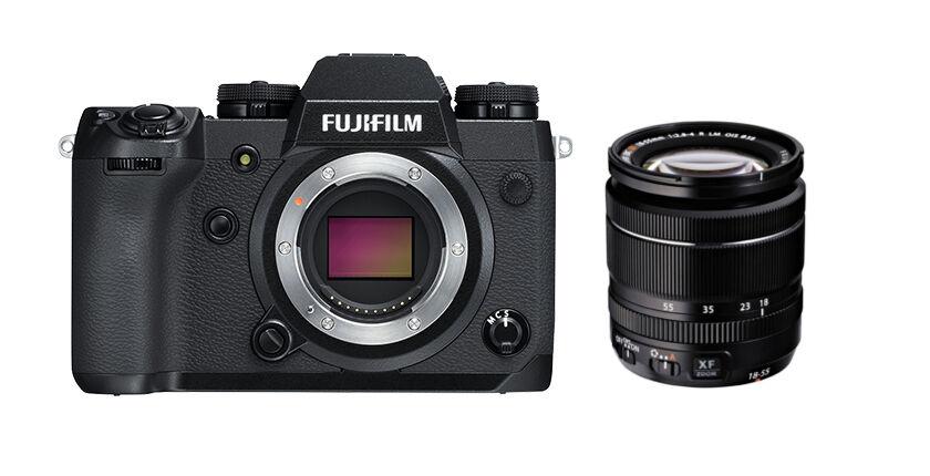 Fujifilm X-H1 + 18-55mm f/2.8-4 R LM OIS - 2 ANNI DI GARANZIA IN ITALIA