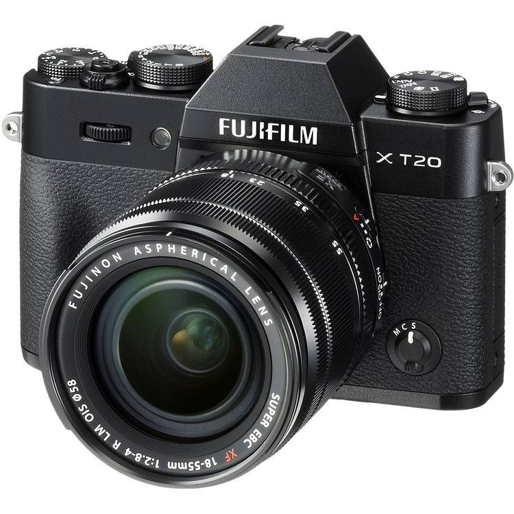 Fujifilm X-T20 + 18-55mm F/2.8-4 XF R LM OIS - Nera - MANUALE ITA - 2 Anni Di Garanzia IN ITALIA
