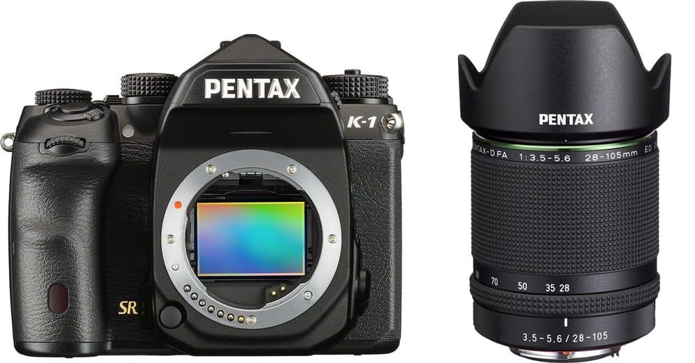 Pentax K-1 + 28-105mm HD FA ED DC WR - 2 Anni Di Garanzia