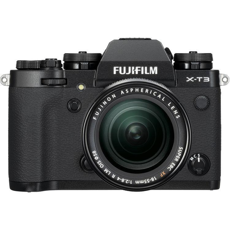 Fujifilm X-T3 NERA + 18-55 F/2.8-4 R LM OIS - MANUALE ITA - 4 Anni di Garanzia in Italia