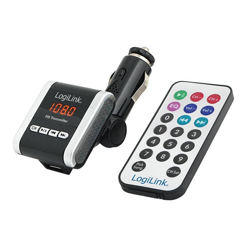 Logilink Trasmettitore FM con lettore MP3