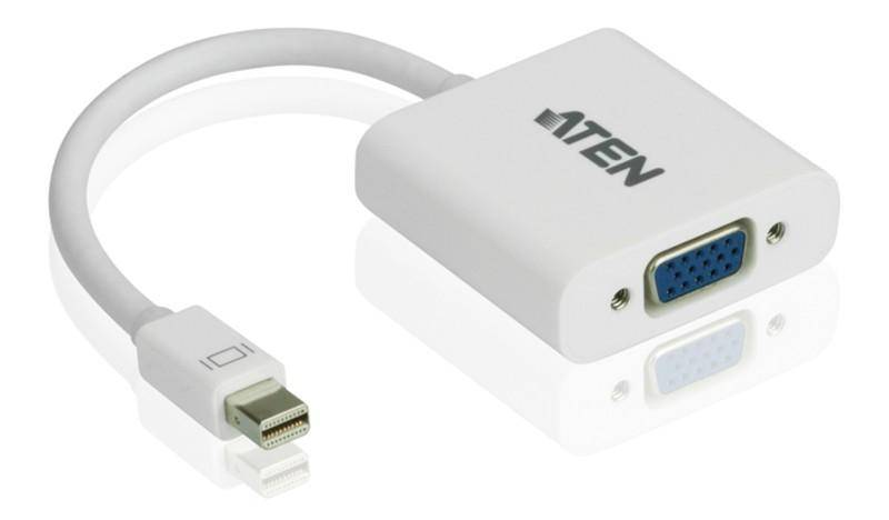 Aten Adattatore Mini DisplayPort (Thunderbolt) a VGA, VC920