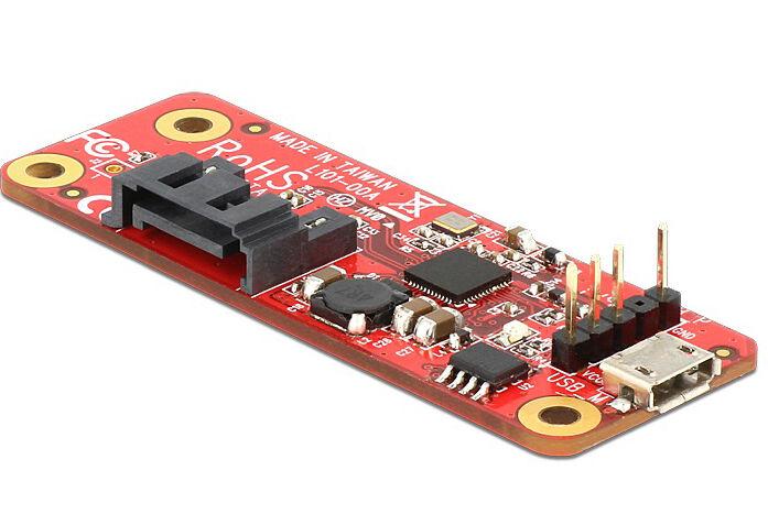 Delock Convertitore Raspberry Pi USB Micro-B femmina / Pin header...