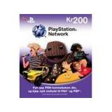 Sony PlayStation Network Live Card 200 Nok, PlayStation 3 og PlayStation Portable