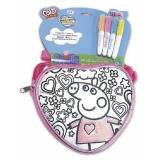 Cife Sequeen Bag Spring Heart Pepa Pig