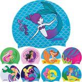 FINIS barneklubb Mermaid samling silikon svømme Cap