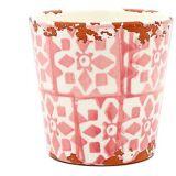 Eura Eura keramiske potten 14 x 12cm coral (dekorasjon, planter og ...