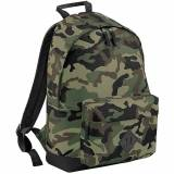 Outdoor Look Cam Padded 20 Litre Camo Backpack Rucksack Midnight Ca...