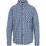 TRESPASS Overtredelse mens Sailfoot knapp ned langermet casual skjorte