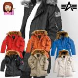 Alpha Industries kvinner vinter jakke Polar