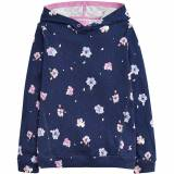 Joules Clothing Joules Girls Marlston Relaxed Cotton Printed Hooded...