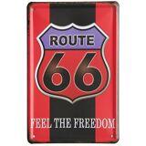 Superstudio Wellindal Printed Metal Box Vintage Red Black 66 Route ...