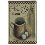 Superstudio Wellindal skrives ut metallboks Vintage New York Bistro...