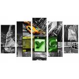 Superstudio Wellindal Pyramid 5 Pieces Ny Canvas Hpp075-87 Mix-