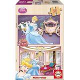 Disney 2 X 50 Askepott (babyer og barn, leker, brettspill)
