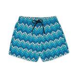 Vilebrequin Moorea Swim Shorts Herringbone Turtles